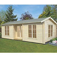 Shire Elveden Log Cabin 7.89 x 4.19m