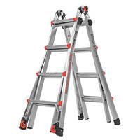 Little Giant Velocity 4-Section Aluminium Multi-Purpose ladder  4.49m