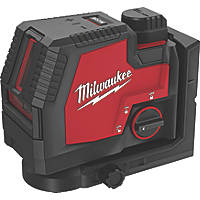 Milwaukee L4CLL-301C Green Self-Levelling Cross-Line Laser Level