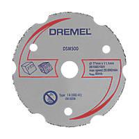 "Dremel Saw-Max  Multipurpose Carbide Cutting Wheel 2"" (55mm) x 5 x 11mm"