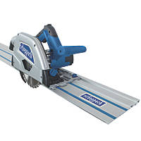 Scheppach PL55Li-P2 36V 2Ah Li-Ion  160mm  Cordless Plunge Saw With Rails