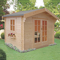 Shire Dalby Log Cabin 8 x 8'