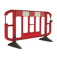 JSP Titan  2m Traffic Barrier Red / White