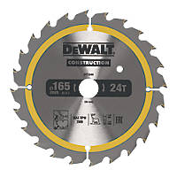 DeWalt Circular Saw Blade 165 x 20mm 24T