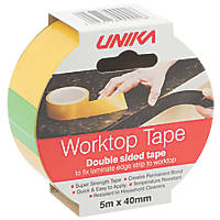 Unika PVC Adhesive Worktop Tape 40mm x 5m