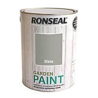 Ronseal Garden Paint Slate 5Ltr