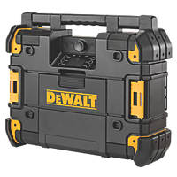 DeWalt DWST1-81079-GB DAB / AM / FM Cordless TSTAK Site Radio 18V