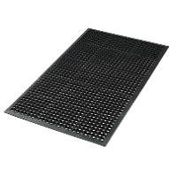 Safety Workstation Floor Mat Black 1500 x 900mm