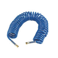 Erbauer  Coiled Air Hose 8mm x 10m