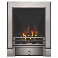 Focal Point Soho Chrome Rotary Control Inset Gas Multiflue Fire