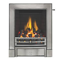 Focal Point Soho Chrome Slide Control Inset Gas Full Depth Fire