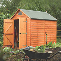 Rowlinson 6' x 8' (Nominal) Apex Shiplap T&G Timber Shed