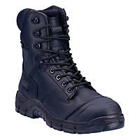 Magnum Rigmaster M801365 Metal Free  Safety Boots Black Size 6