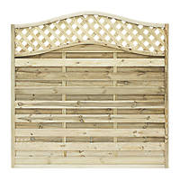 Grange Woodbury Fence Panel 1.8 x 1.8m 5 Pack