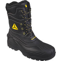 Delta Plus Eskimo Metal Free  Safety Boots Black / Yellow Size 10