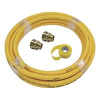 Teslaflex Gas Fitting Starter Kit 15.5mm 10m DN15 4 Pieces