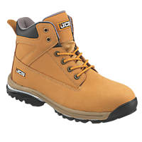 JCB Workmax   Safety Boots Honey Size 8