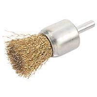 Crimped Wire Pencil Brush 25mm