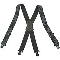 Oregon 562411 Logger Trouser Braces Black Metal Clip Attachment