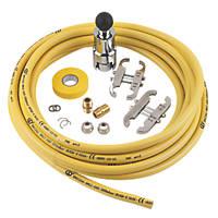 Teslaflex Gas Fitting Kit  10m DN15 13 Pieces