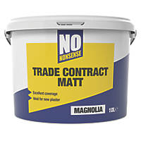 No Nonsense Contract Matt Emulsion Magnolia 10Ltr