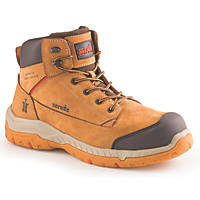 Scruffs Solleret Metal Free  Safety Boots Tan Size 8