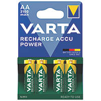 Varta Ready2Use Rechargeable AA Batteries 4 Pack