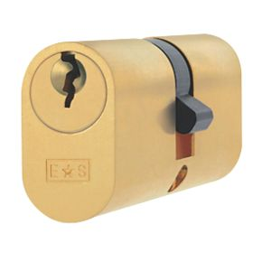 Eurospec Keyed Alike Oval Cylinder Lock 30 30 60mm