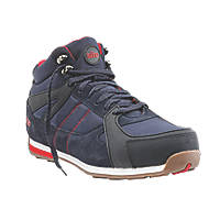 Site Strata High-Top   Safety Trainer Boots Navy Size 8