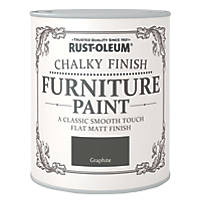 Rust-oleum Universal Furniture Paint Chalky Graphite Black 750ml