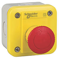 Schneider Electric XALEK178E Red Push-Button Complete Control Station