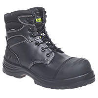 Apache Hercules Metal Free  Safety Boots Black Size 9