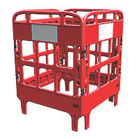 JSP Portagate 4-Gate Compact Barrier System Red