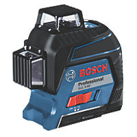Bosch GLL 3-80 Professional Red Self-Levelling Multi-Line Laser Level