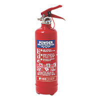 Firechief 100-1051 Dry Powder Fire Extinguisher 600g 24 Pack