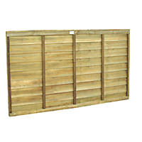 Forest Super Lap  Fence Panels 6 x 3' Pack of 7