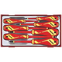 Teng Tools VDE Insulated Screwdriver Set 7 Pieces