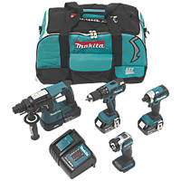 Makita DLX4111SM 18V 4.0Ah Li-Ion LXT Brushless Cordless 4 Piece Kit
