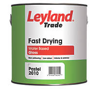 Leyland Trade Fast Drying Gloss Paint Brilliant White 750ml