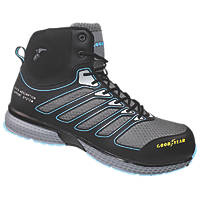 Goodyear GYBT1594 Metal Free  Safety Boots Black / Blue Size 8