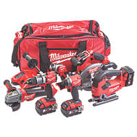 Milwaukee M18FPP6D2-503B 18V 5.0Ah Li-Ion RedLithium Cordless 6 Piece Kit