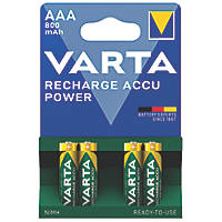 Varta Ready2Use Rechargeable Batteries AAA Pack of 4
