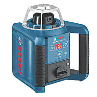 Bosch GRL 300 HV Professional Red Self-Levelling Rotary Laser Level With Receiver