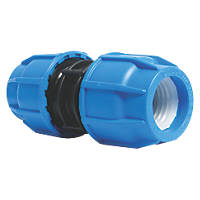 FloPlast  Straight Pipe Coupling 20mm x 20mm
