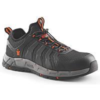 Scruffs Argon Metal Free  Safety Slip On Trainers Black / Grey Size 9
