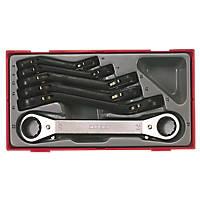 Teng Tools TTRORS Ratchet Spanner Set 6 Pieces