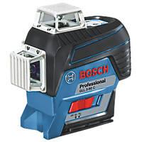 Bosch GLL 3-80 C Professional 12V Li-Ion Coolpack Red Self-Levelling Multi-Line Laser Level - Bare
