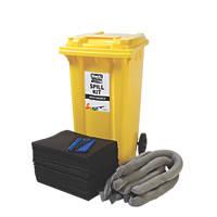 Lubetech Black & White 240Ltr Maintenance Spill Response Kit