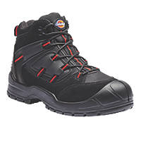 Dickies Everyday   Safety Trainer Boots Black / Red Size 8