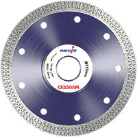 Marcrist Tile CK650 Cordless Angle Grinder Diamond Tile Blade 115 x 22.23mm